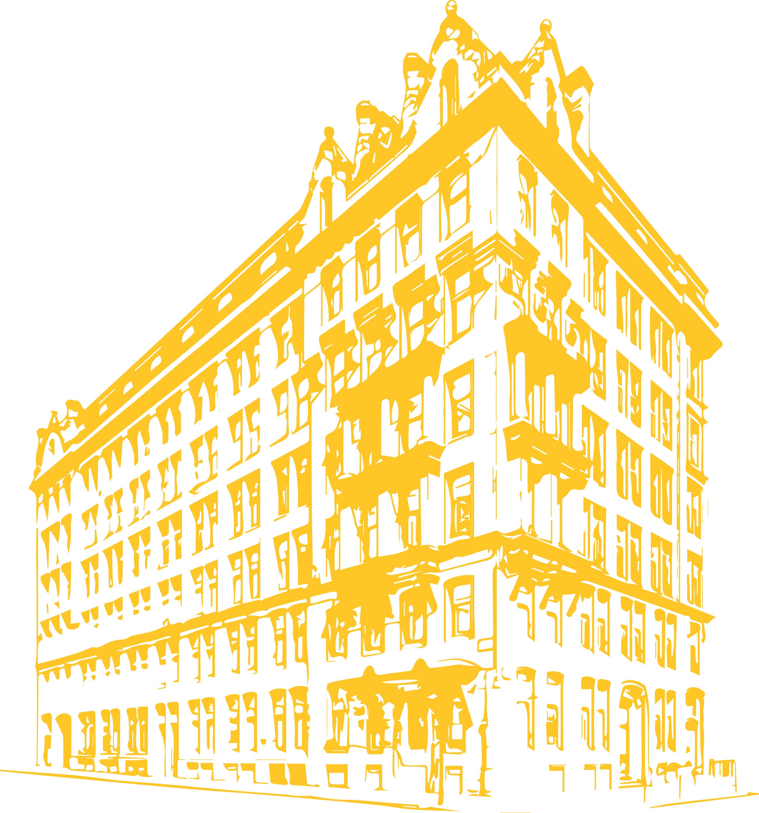 Graphic of building exterior